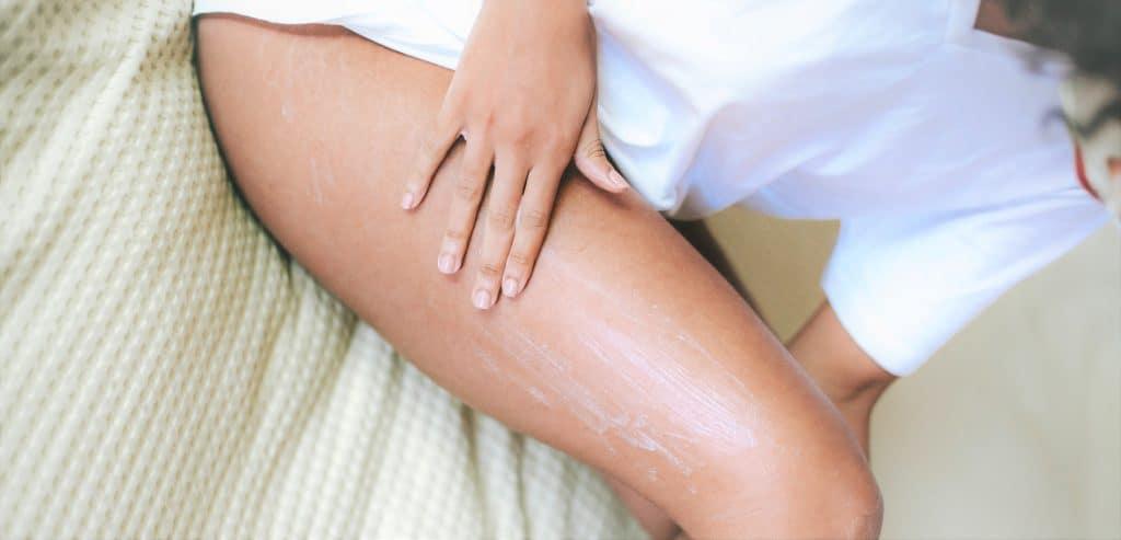 apply lotion